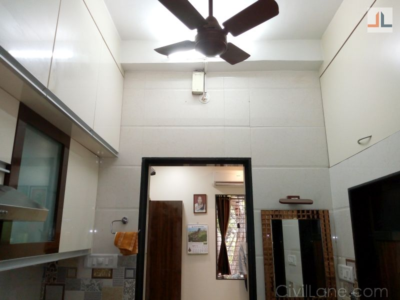 Straight Line Modular Kitchen - Byculla, Mumbai