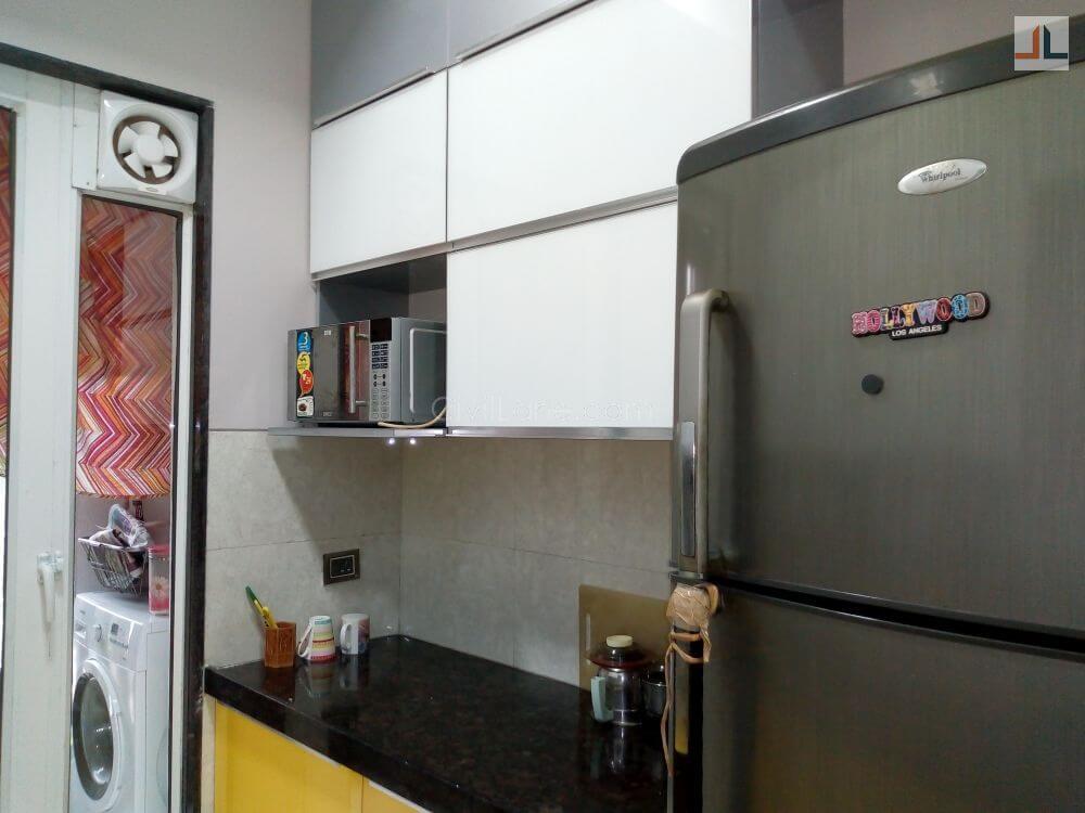 Gundecha Trillium Kandivali Acrylic Modular Kitchen Design