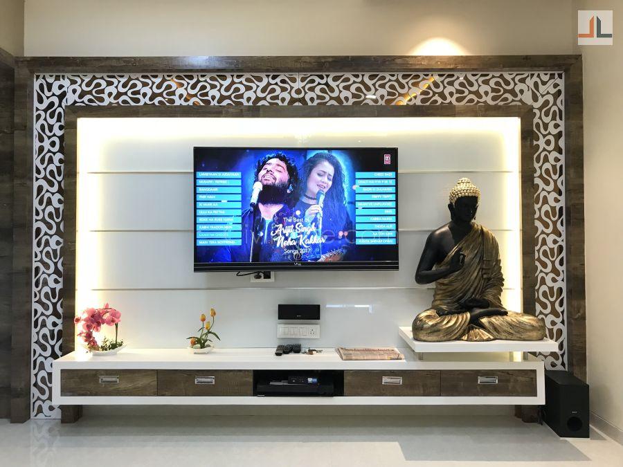 3BHK Flat Interior Design Mumbai 1200 Sq.ft | CivilLane