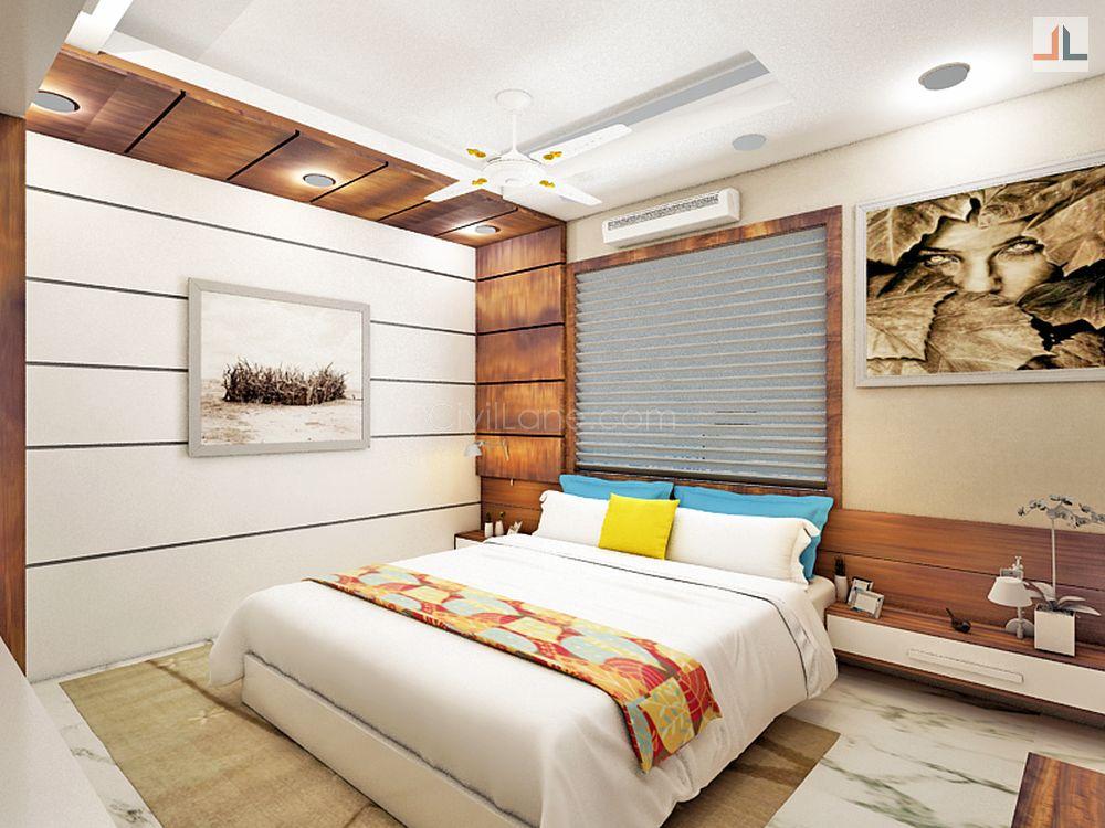 1bhk home interior design 400 square foot civillane - New home interior design ...