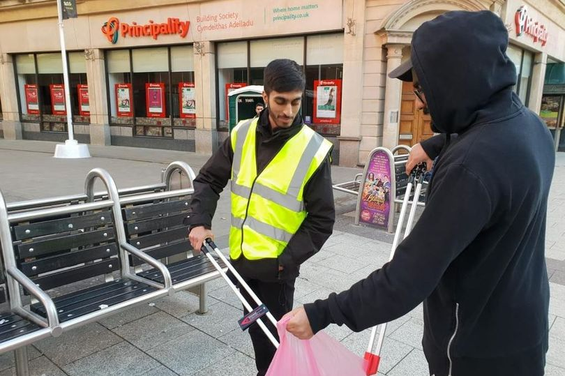 Cardiff clean up by Muslim charity