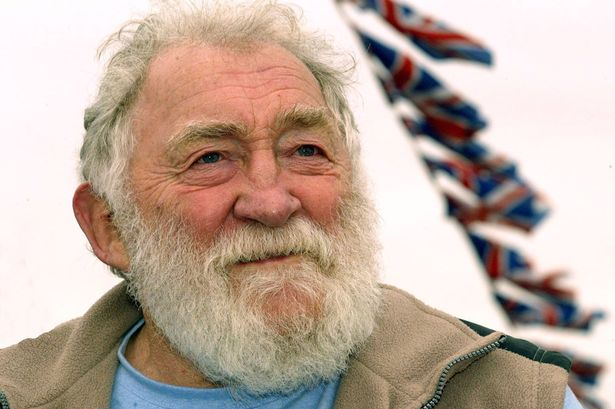 Conservationist and broadcaster David Bellamy
