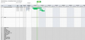 What is the Construction Schedule? And how to make it