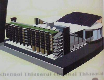 Thiagaraj (Main building) - Chennai