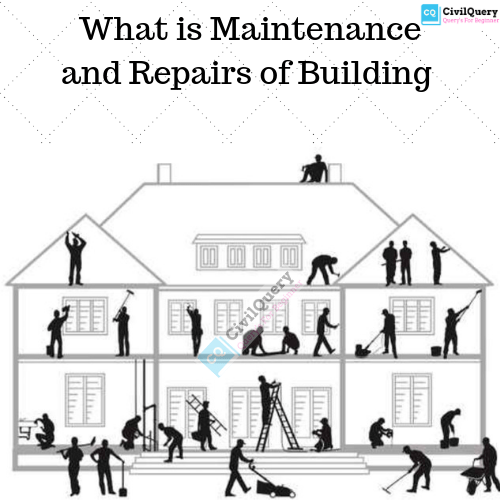 What is Maintenance and Repair of a building? - Civil Query