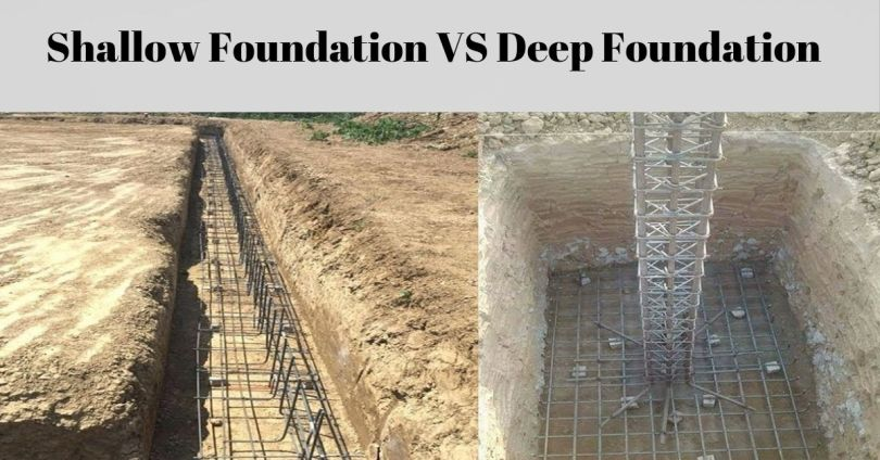 Civil Engineering - Difference Between Shallow and Deep
