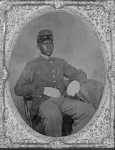 Civil War Black Soldier