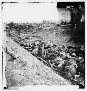 Dead Confederate Soldiers at Antietam