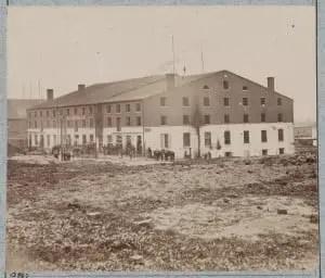 Libby Prison, Richmond Virginia April 1865