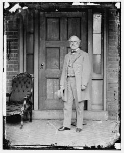 Robert E. Lee at McLean's House, Appomattox, After His Surrender