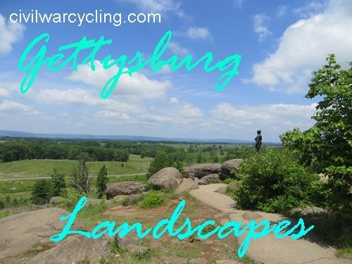 Gettysburg Landscapes at Civil War Cycling