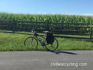 Bicycling Antietam National Battlefield
