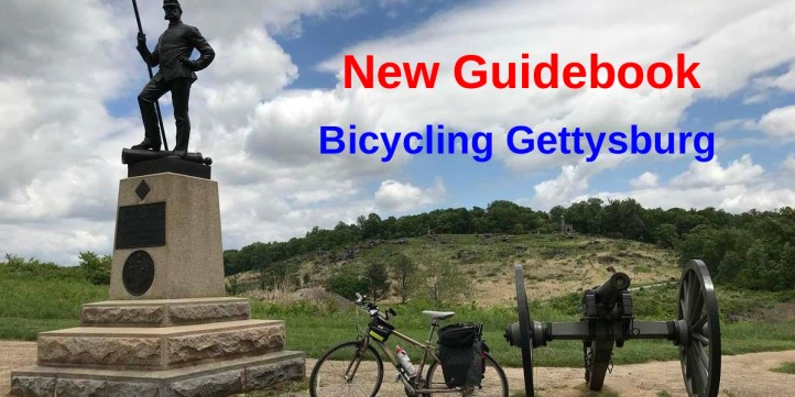 New Guidebook for Bicycling Gettysburg