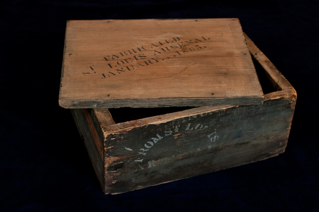 Image result for civil war ammo box