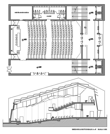 Konferans salonu projeleri 5 konferans salonu izimi for Aulas web arquitectura