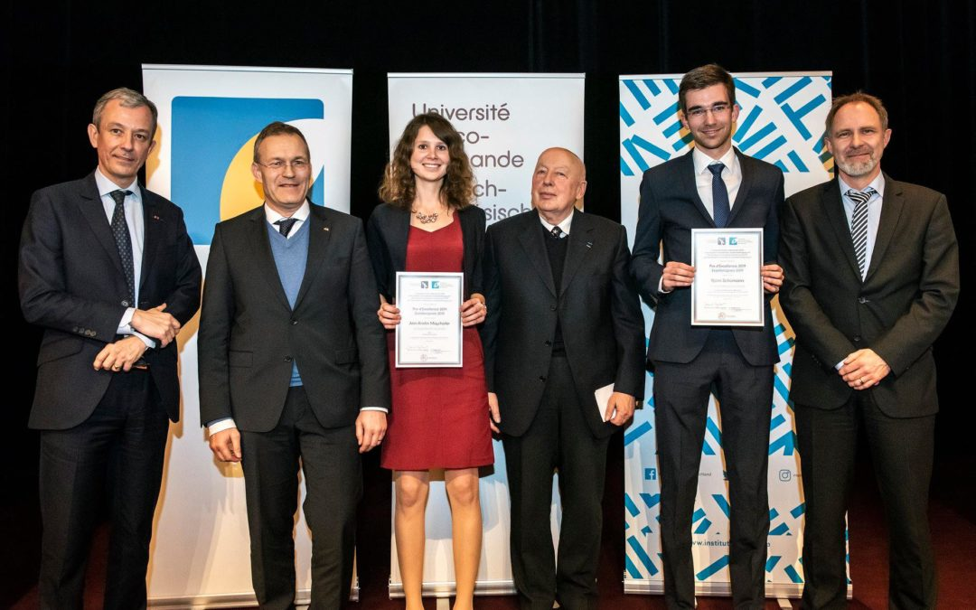 Björn Schüman, étudiant du CJFA, reçoit un prix d'excellence