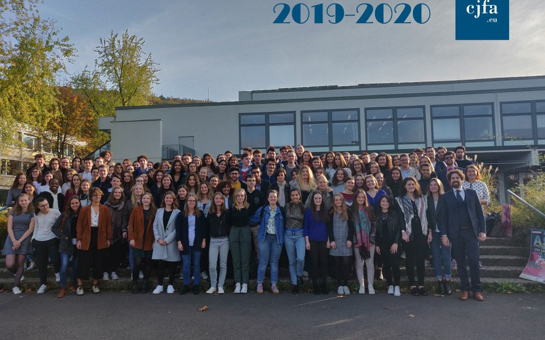 Photo officielle du CJFA 2019-2020