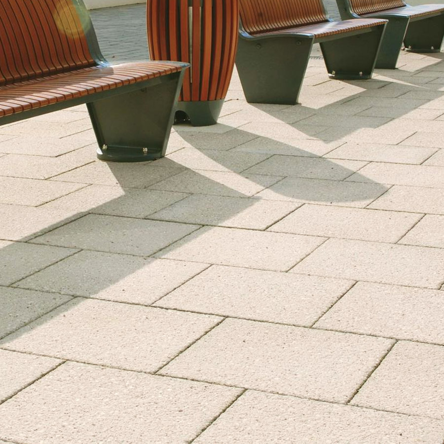 Textured paving