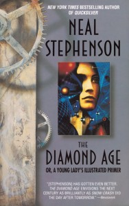 The Diamond Age (one of the many variant covers)