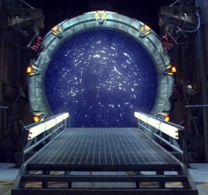 The Stargate from SG1