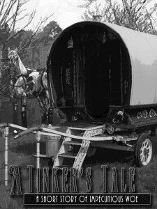 A tinker's caravan and a mechanimal horse