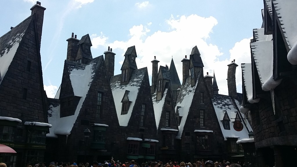 Hogsmeade at Universal Studios islands of adventure