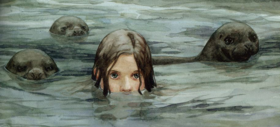 "librum-prodigiosum: "" Selkies are magical water creatures found in Scottish, Irish and Scandenavian folklore. They live in the sea in the form of seals, but shed their skins to come on land, where they appear as humans. Selkies are said to be very..."