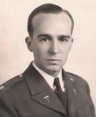 Lt. Col. William Wallace Greene, MD, 1945.
