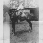 Family Photos Friday: Grams On Horseback