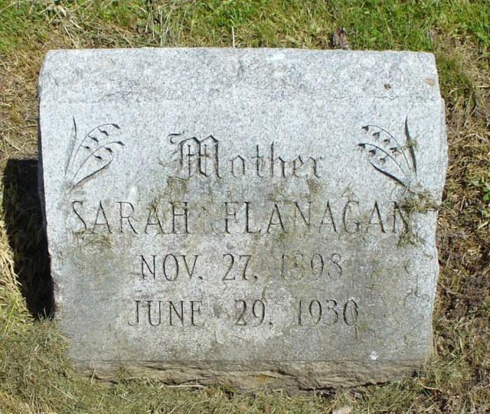 Kennedy Sarah Headstone