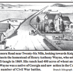 #52Ancestors: Looking for 3rd Great Grandmother Margaret Gann Harless's 26 Mile House 1870 Census Home