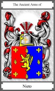 Nieto Family Crest