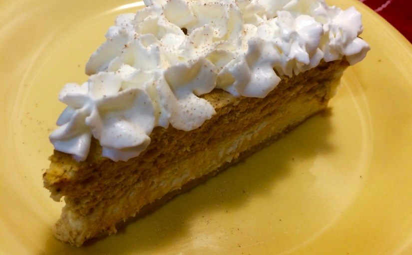 Low Carb Pumpkin Cheesecake