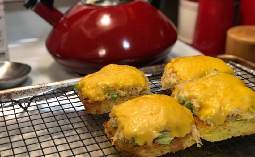 90 Second Bread Chicken Melt | Keto Friendly | Delicious | Versatile