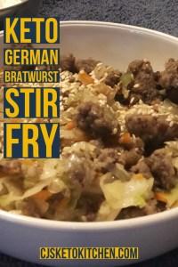 Keto German Stir Fry