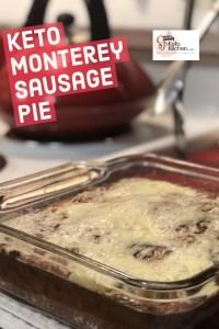 Monterey Sausage Pie Pinterest