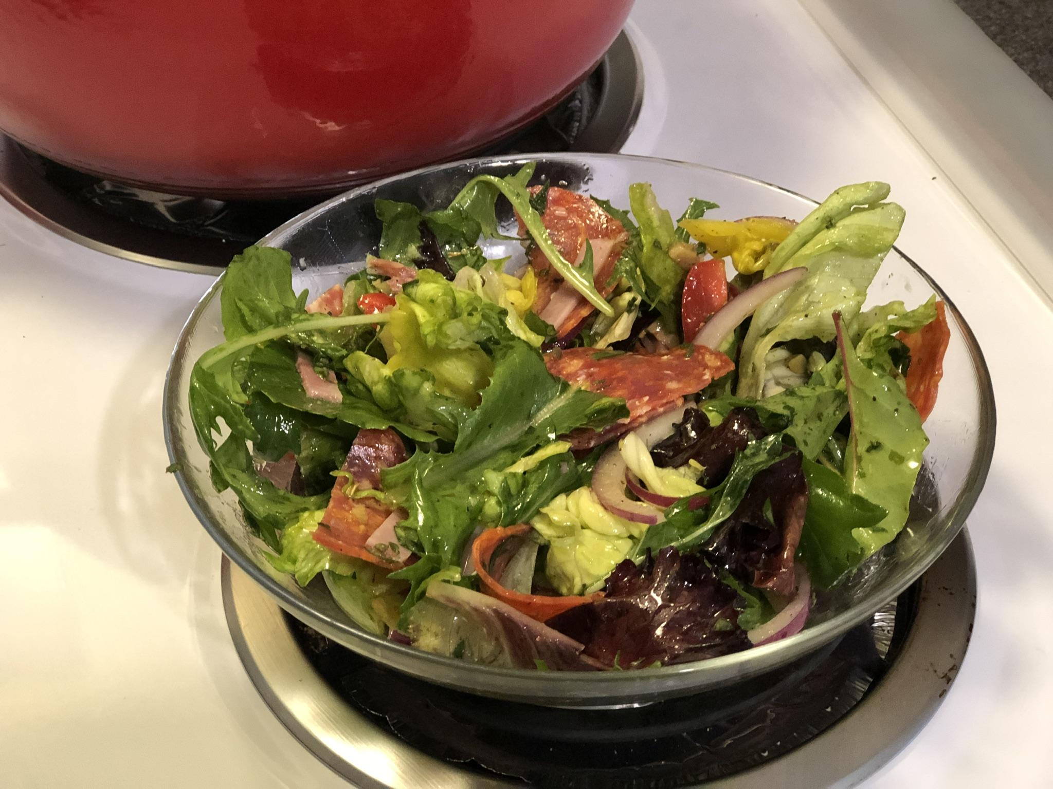 Low Carb Keto Italian Sub Salad