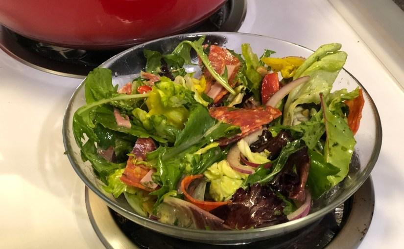 Keto Low Carb Italian Sub Salad