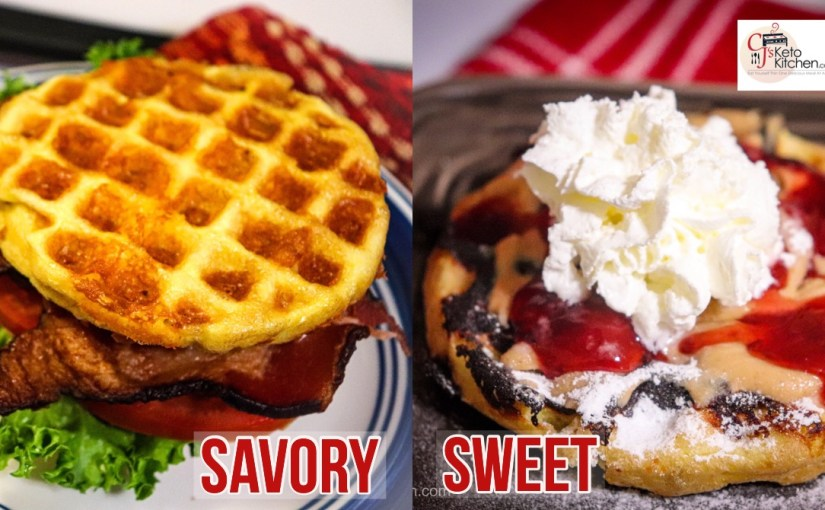 How to Make Chaffle's – Savory and Sweet Recipes