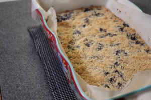 Keto Blueberry Crumbles Preparation