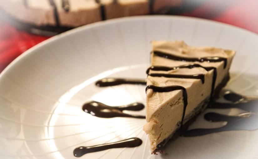 Keto Low Carb Chocolate Peanut Butter Pie