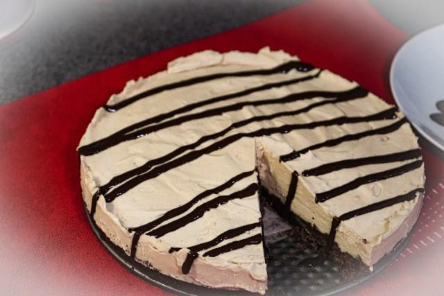 Keto Chocolate Peanut Butter Pie