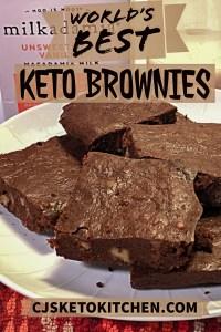 Keto Brownies Pinterest Pin