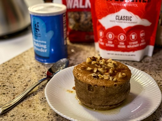 Coffee Cake In a Cup (Keto/Low Carb)