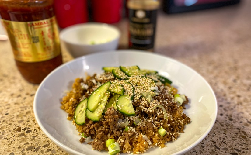 Keto Korean Beef Bowl