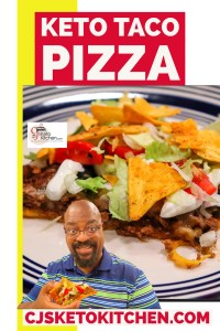 Keto Taco Pizza