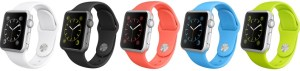top 5 wearable technology companies - Apple Watch Sport Collection