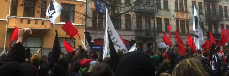 Demonstration i Malmö