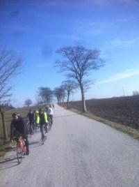 Introduktionsträning för landsvägscyklister