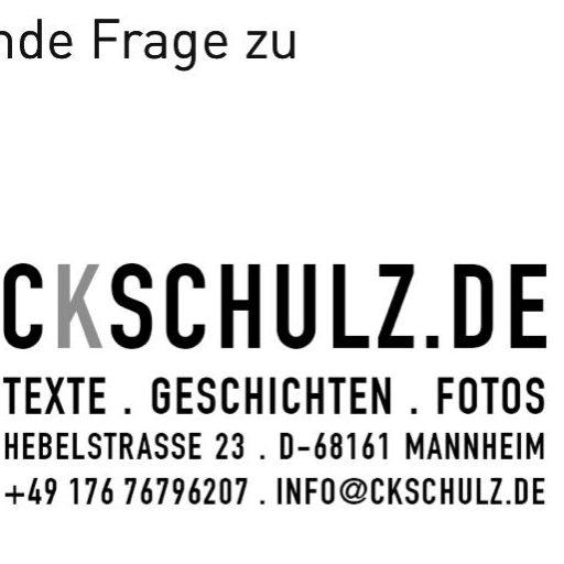 (c) Ckschulz.de